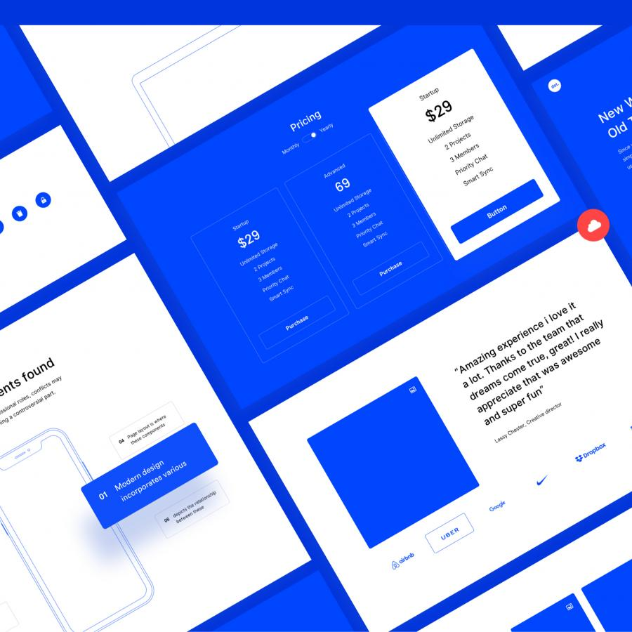 dot. is a Super Useful Prototype UI Kit
