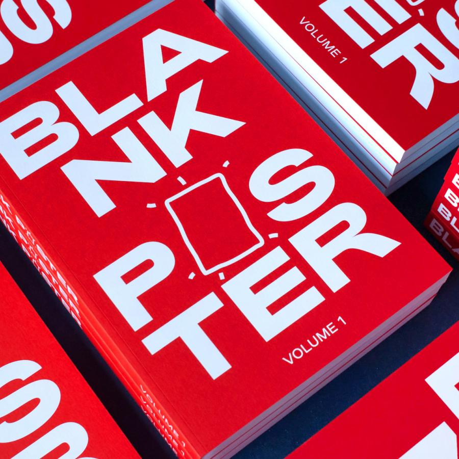 Blank Poster Volume 1 Book is Pure Poster Design Inspiration