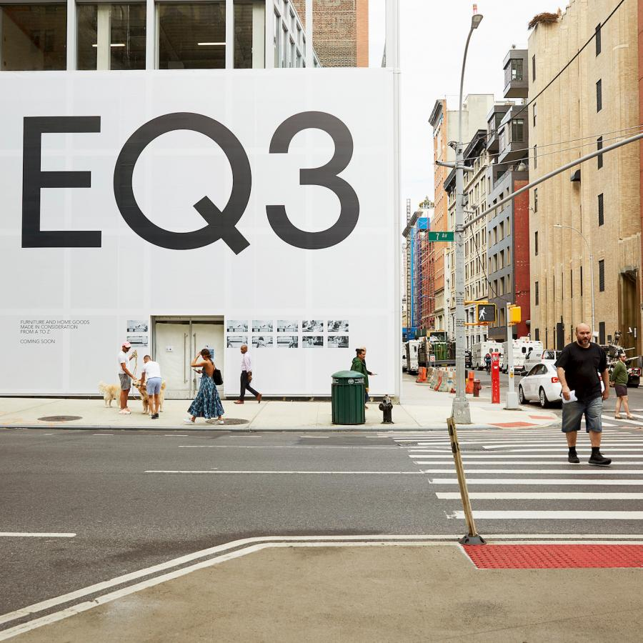 EQ3, a Canadian Furniture Brand launched its new flagship in NYC