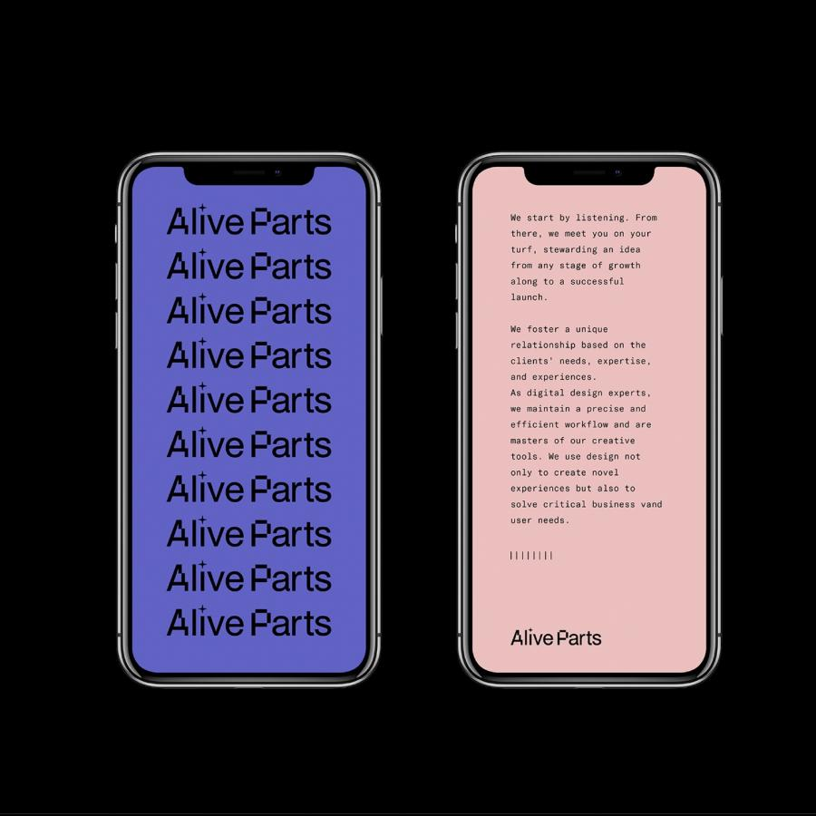 Alive Parts — Branding and Visual Identity