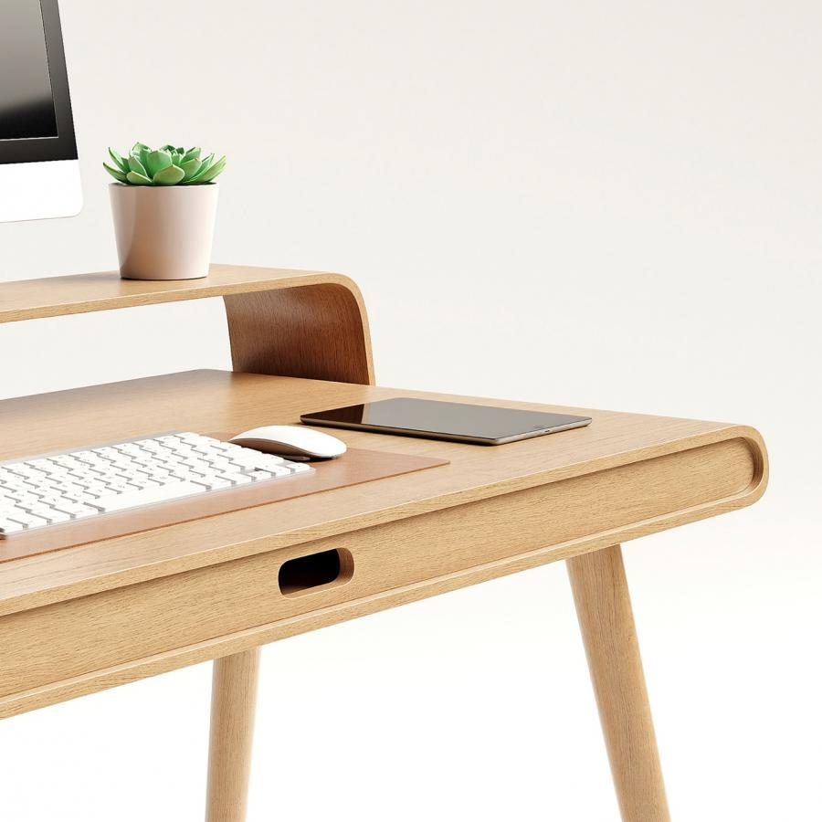 Loop Desk — Minimal and Sophisticated Industrial Design