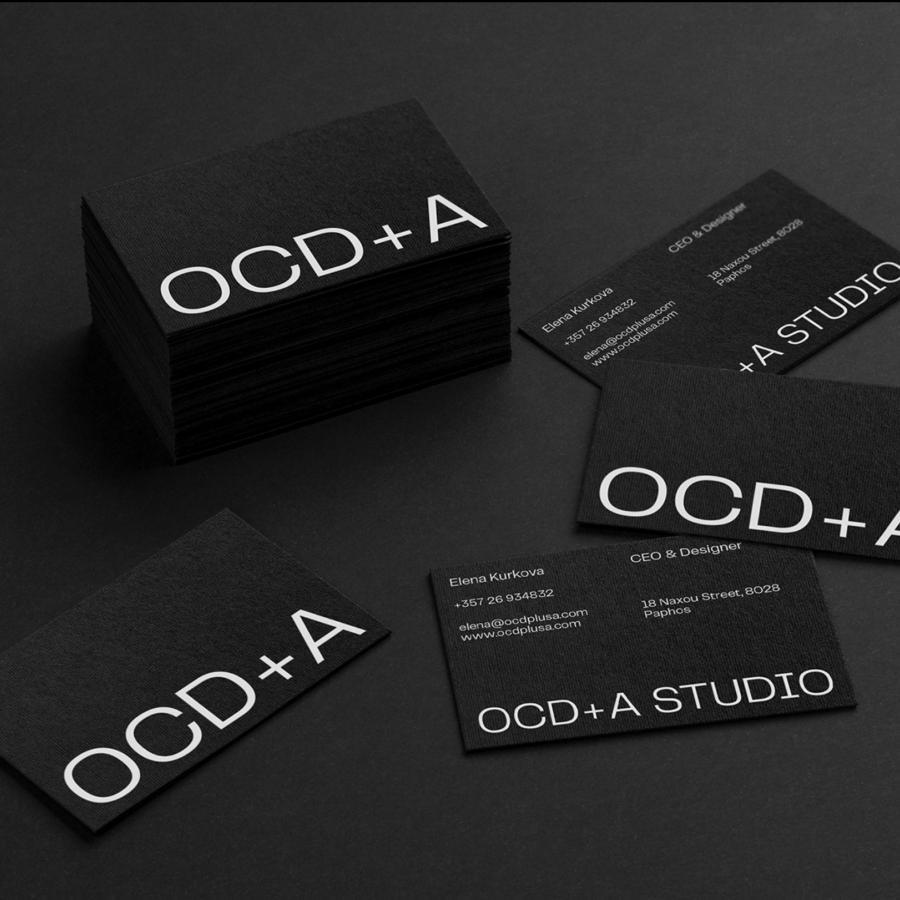 OCD+A STUDIO Branding and Visual Identity