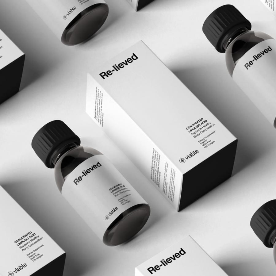 Viable — Wellness Supplement Branding & Packaging Design