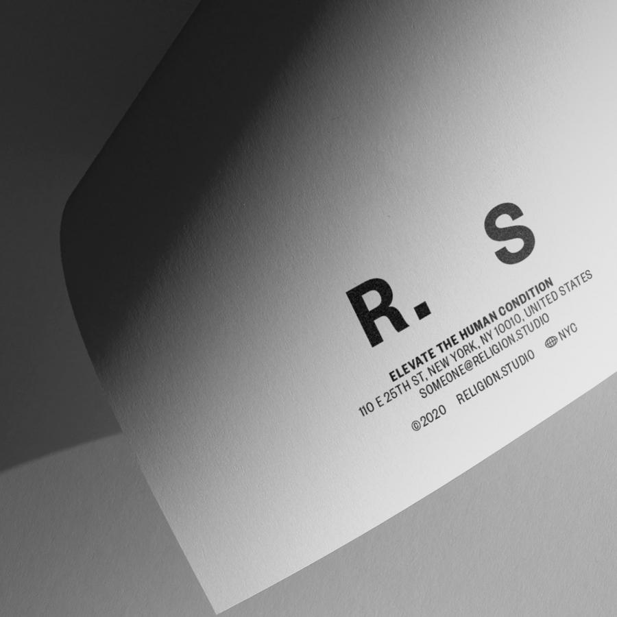 Branding and Visual Identity for Religion Studio