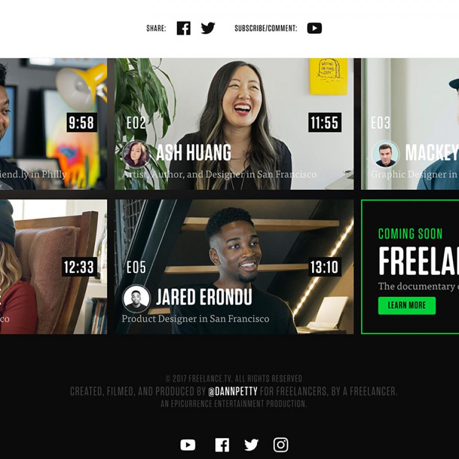 Discover Freelance.tv: Stories about Freelancing