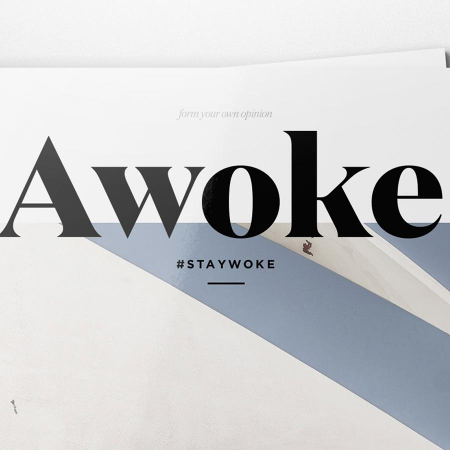 Editorial Design: Awoke Magazine