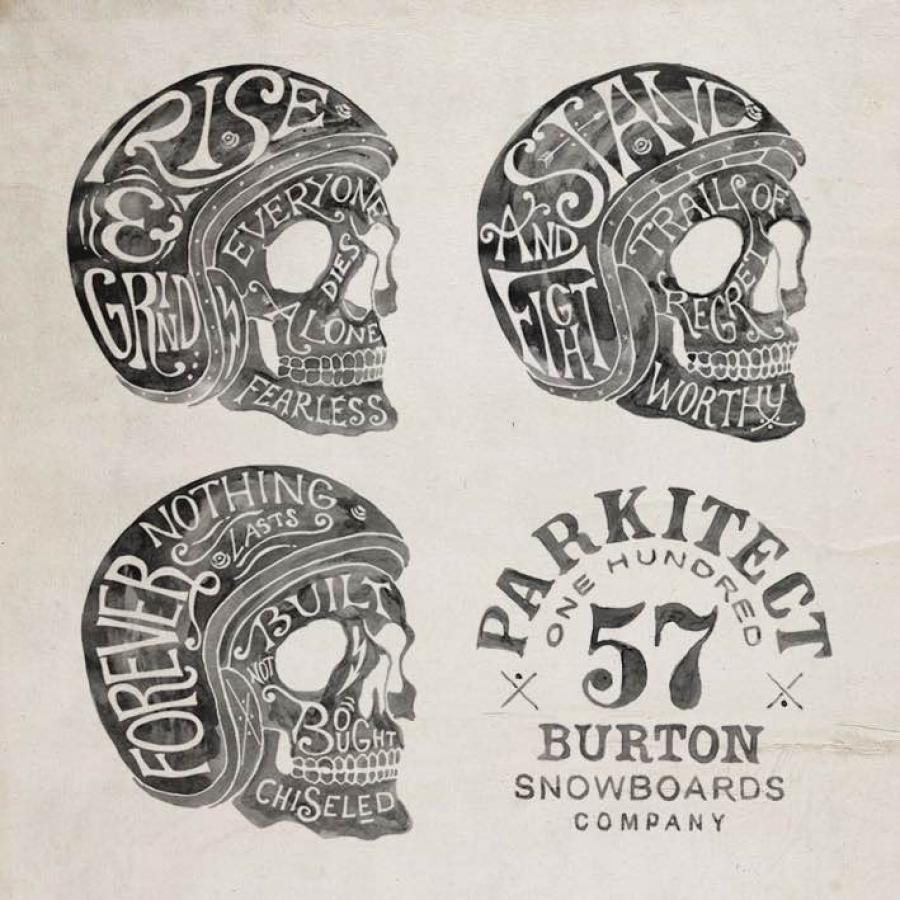 Awesome Design Marks for Burton Snowboards