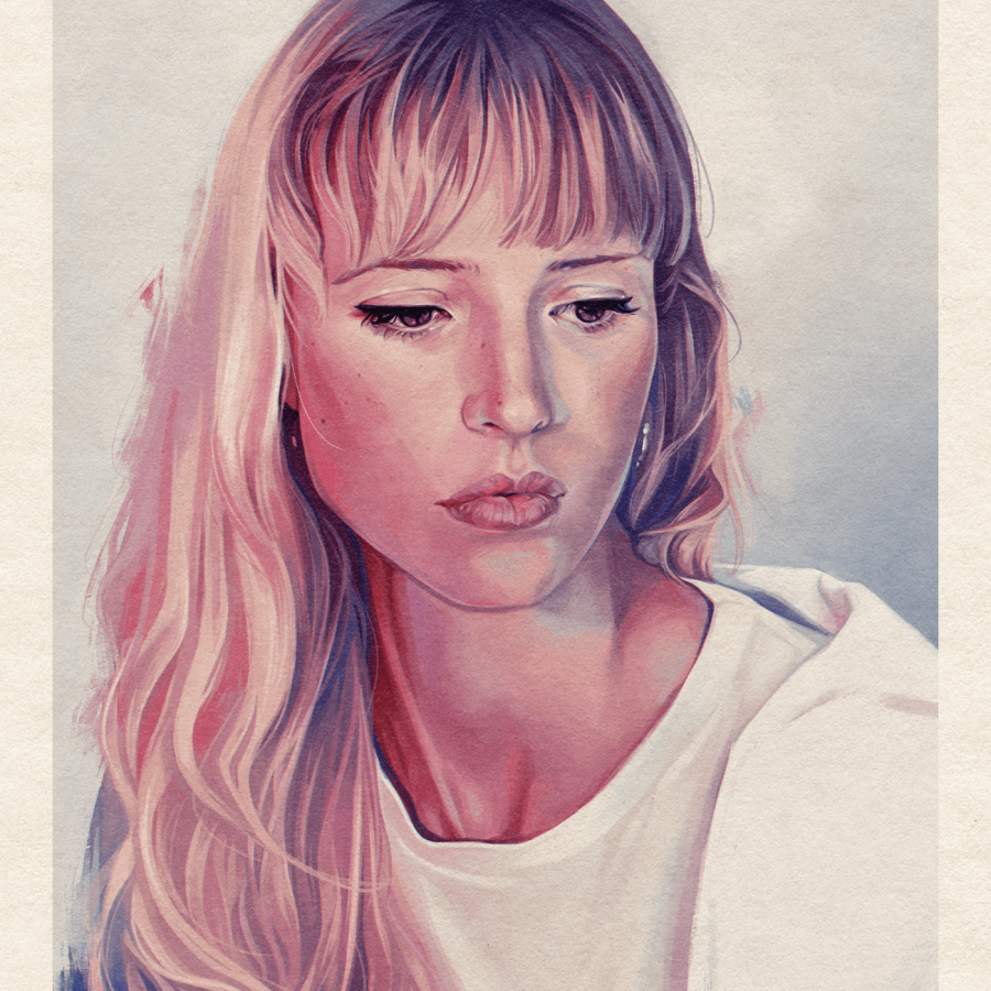 Pastel-esque Illustrations made with Procreate