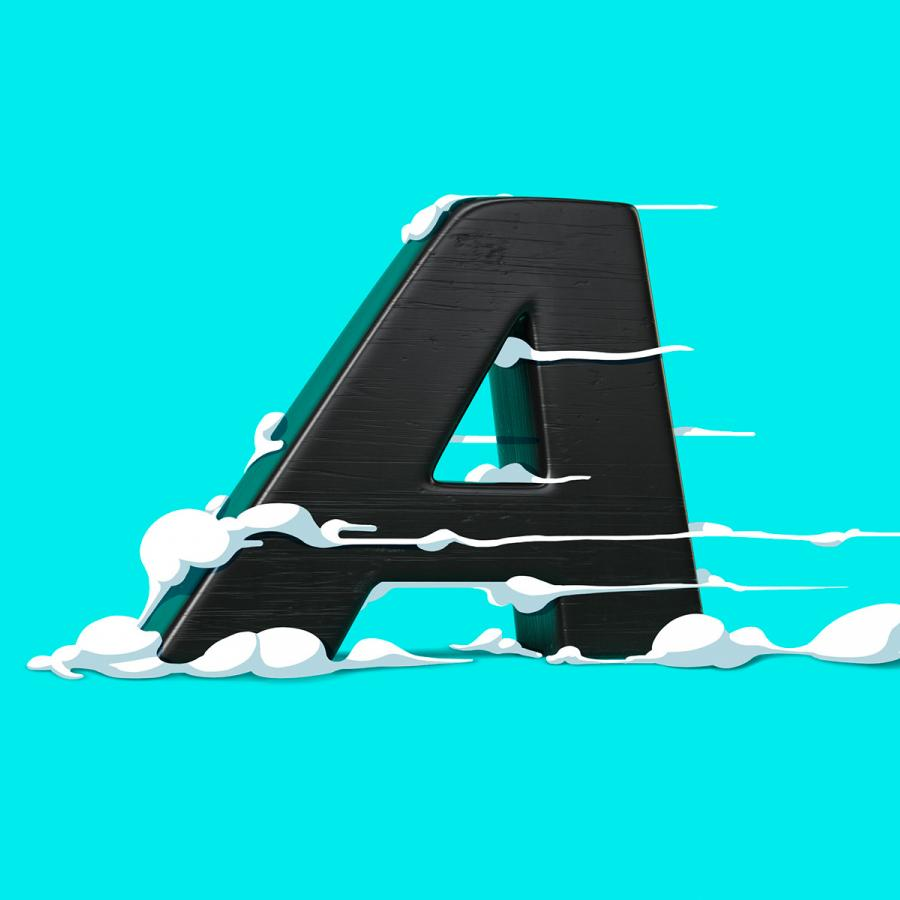 Typography: Letter Jam the Tooned Alphabet