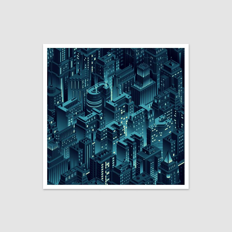 City Life - Isometric Cityscape