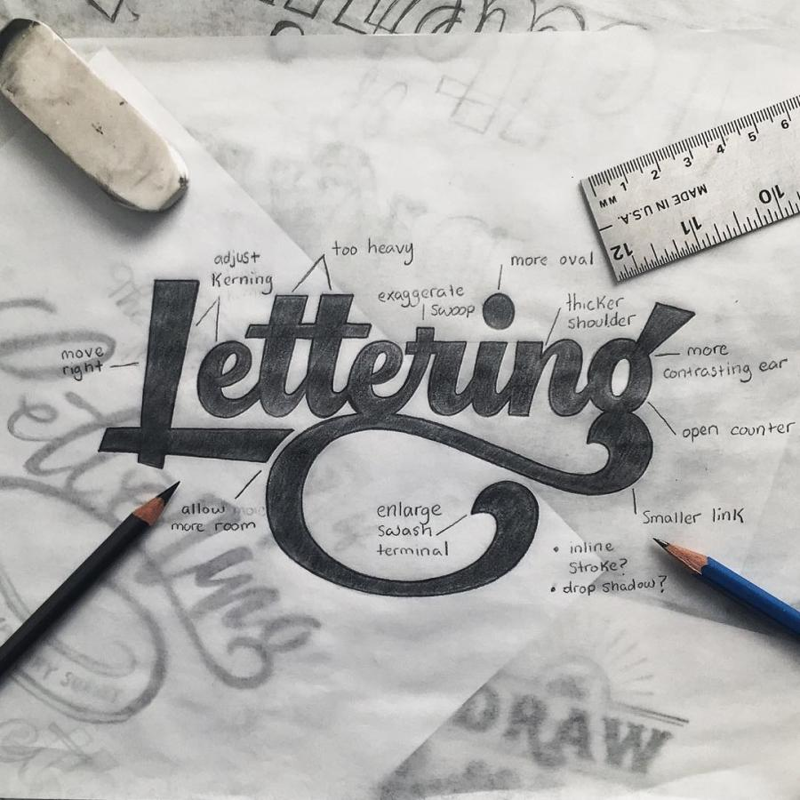 Hand Lettering Artist Colin Tierney