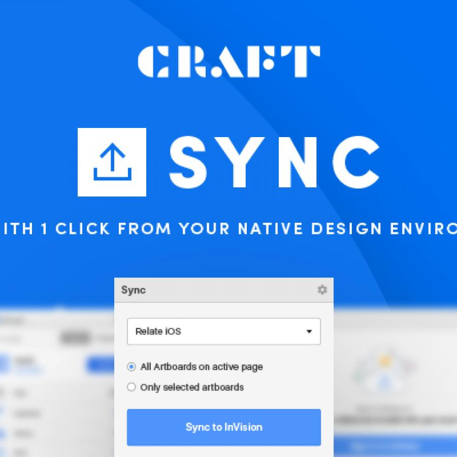 Introducing Craft Sync by Invision