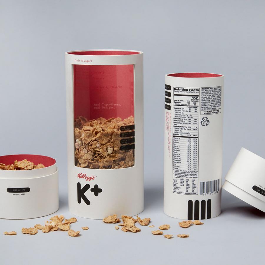 Kellog's Cereal Package Design