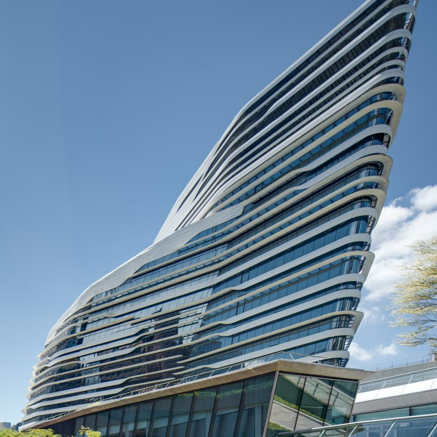 Zaha Hadid Architect's Amazingness Innovation Tower - Architecture Photography