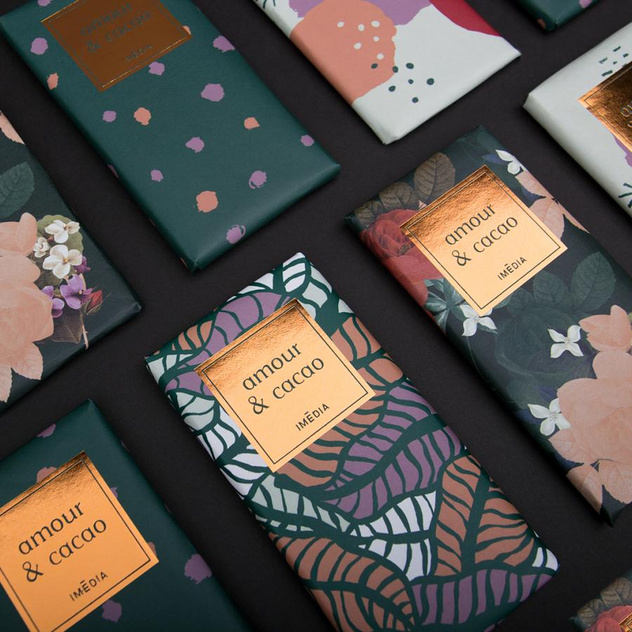 Illustration and Graphic Design: Amour and Cacao
