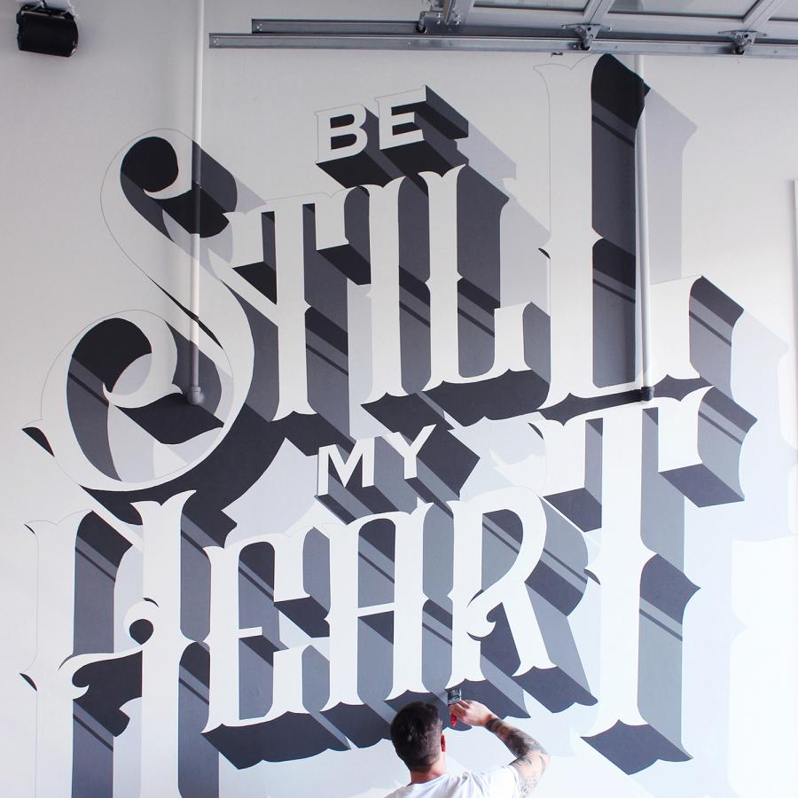 Mural Design & Illustration by Ben Johnston