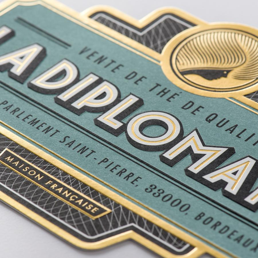 Branding and Visual Identity of La Diplomate