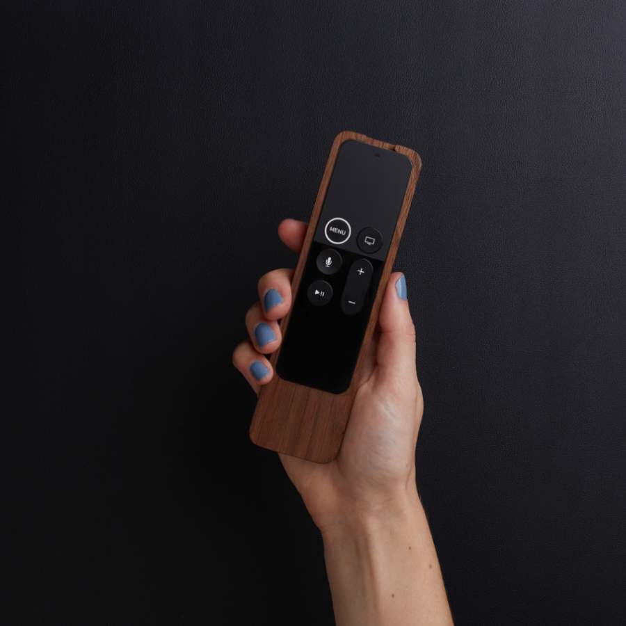 Minimal, Handcrafted Apple TV Remote Case by Fifthmade
