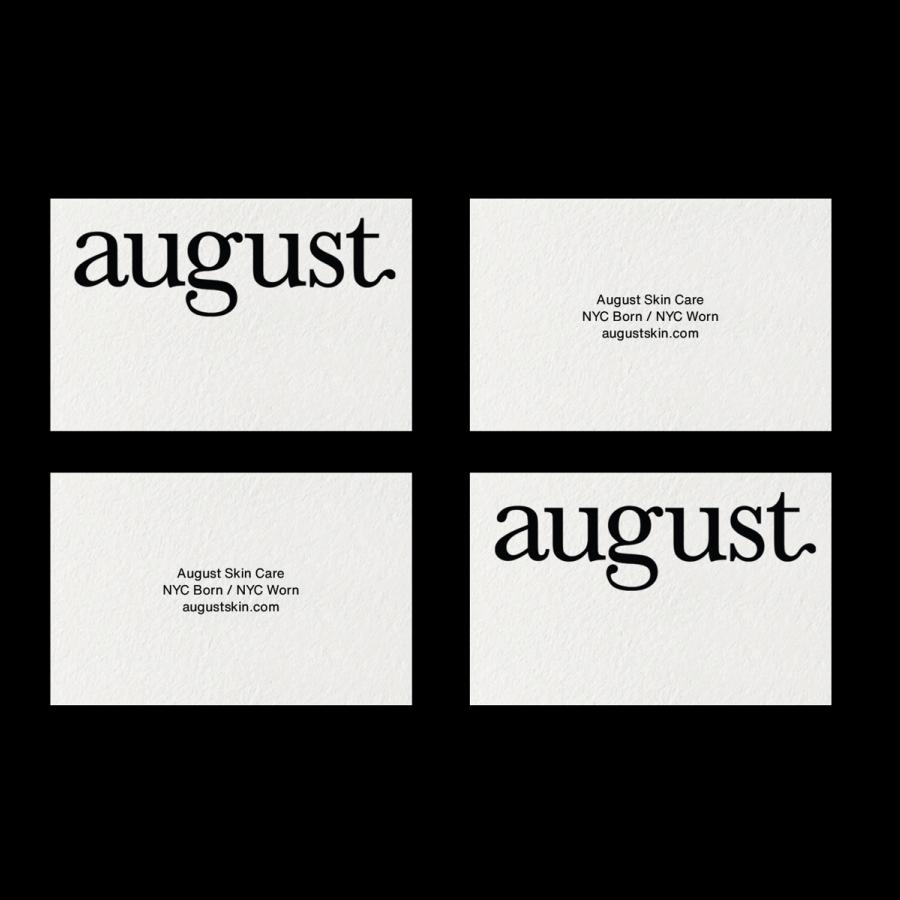 Branding and Visual Identity for August