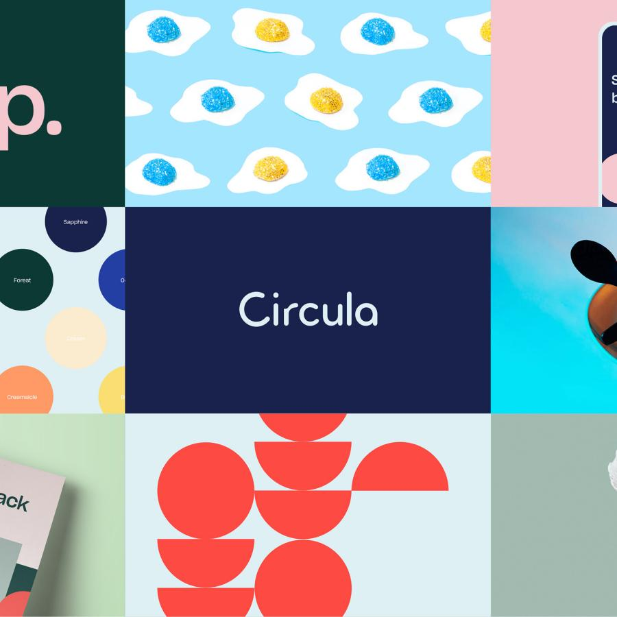 Simplicity at its best with Circula visual identity