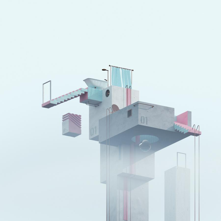 Concrete Dream Surreal Scenes in 3D