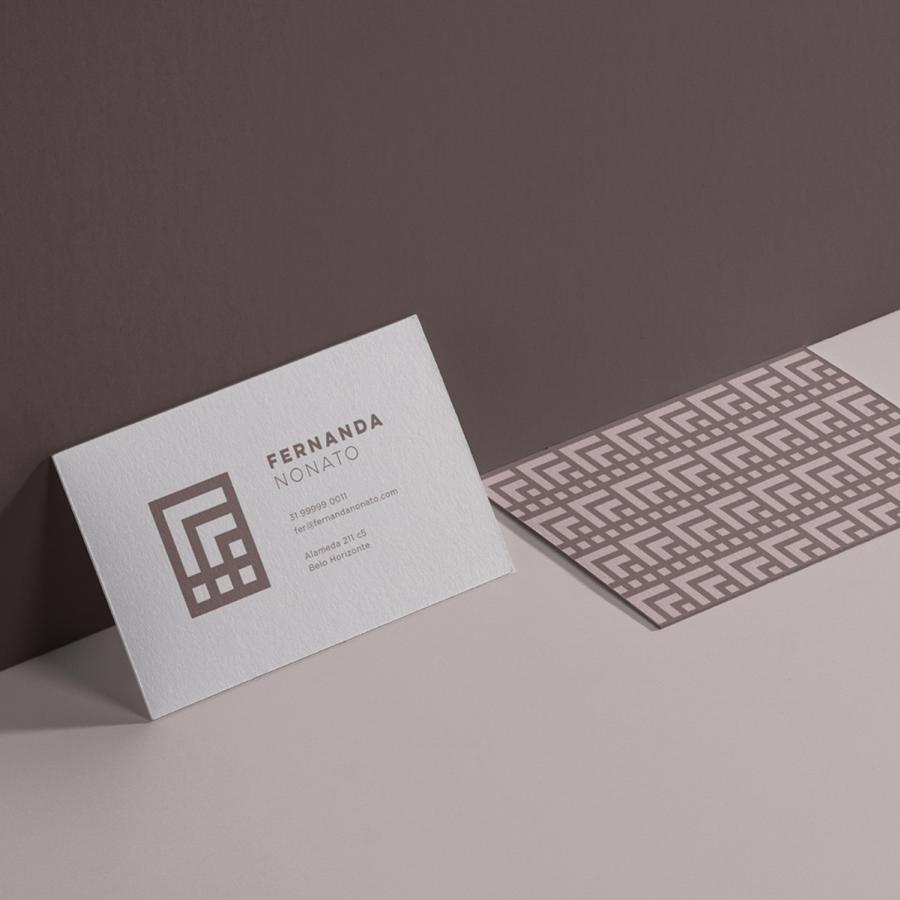 Brand and Visual Identity for Fernanda Nonato Architecture