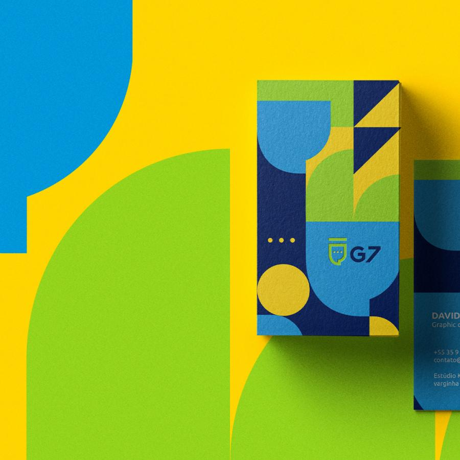 Colorful Branding and Visual Identity for G7 Group