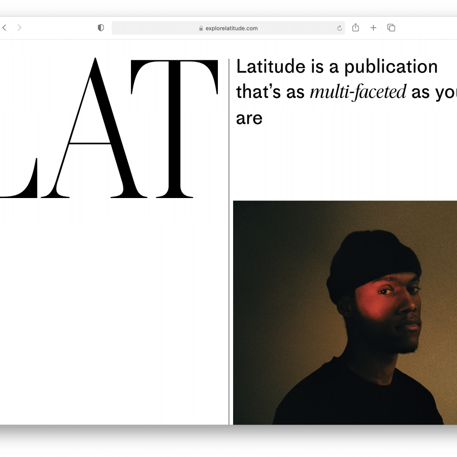 Editorial and Web Design for LAT Magazine