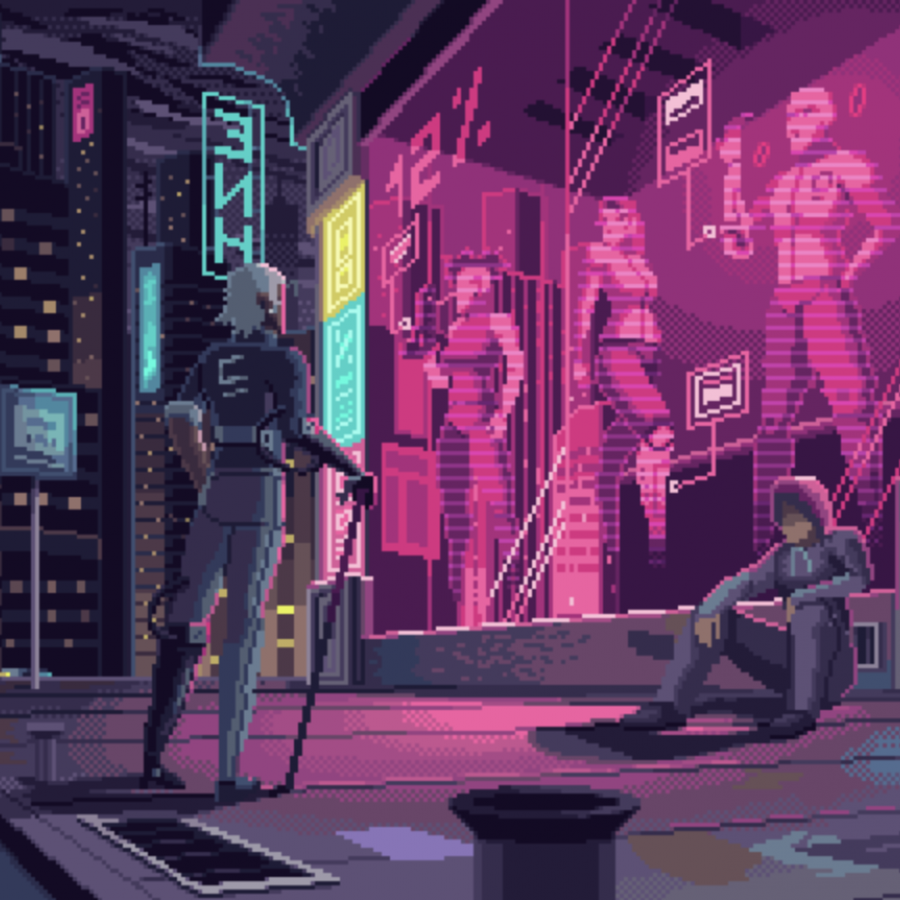 Amazing Pixel Art Animations by Kirokaze pixel