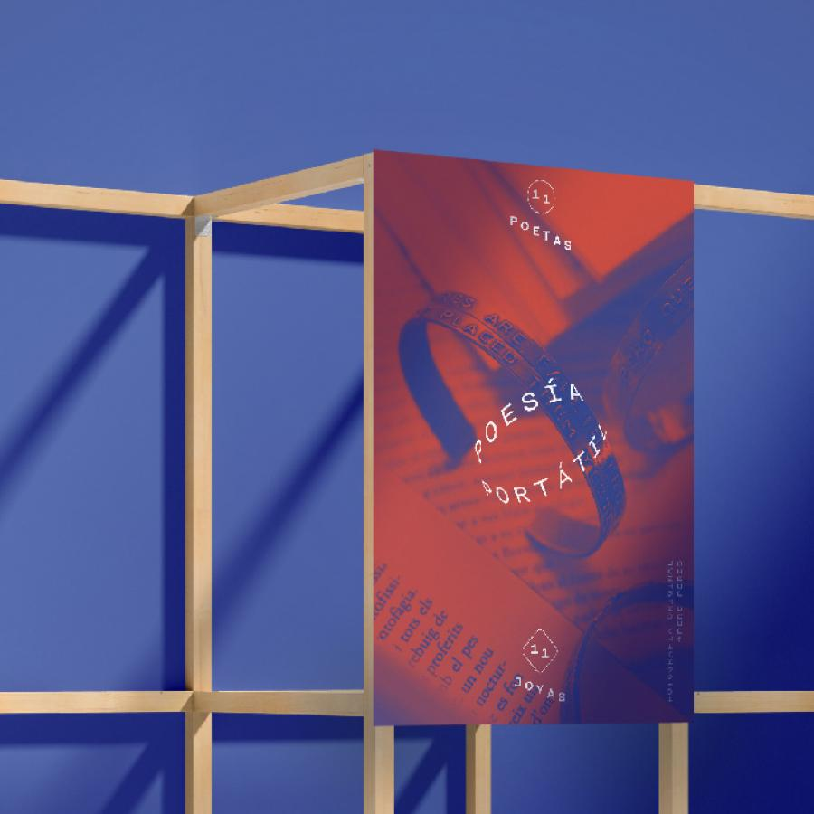 Branding and Visual Design for Poesía Portátil