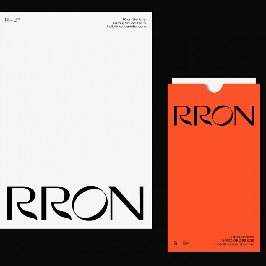 Rron Branding and Visual Identity