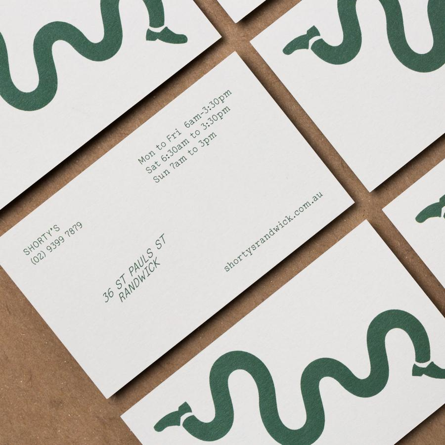 Branding and Visual Identity Shorty's Coffee