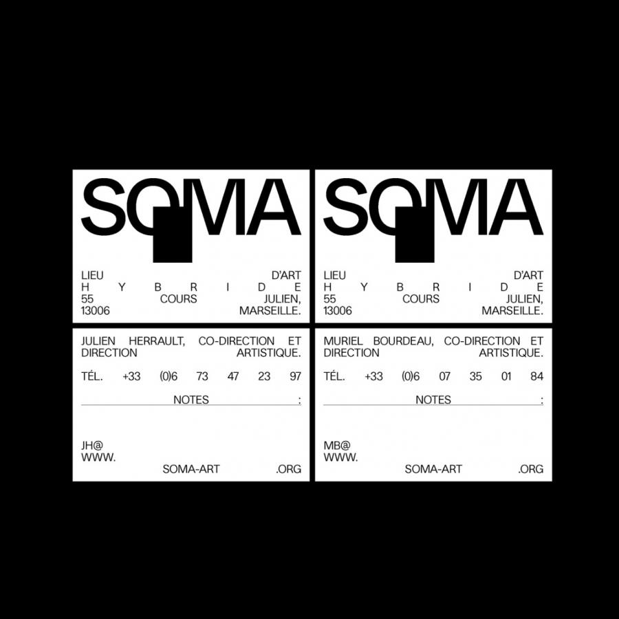 Branding and Visual identity for SOMA