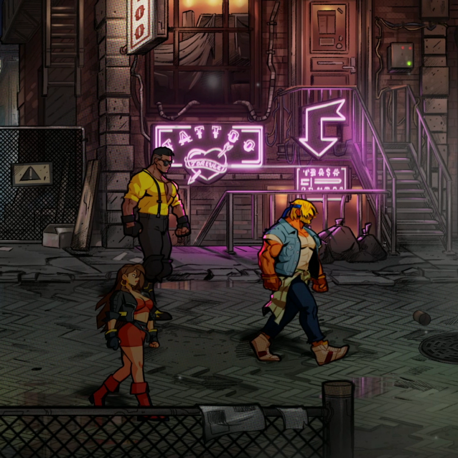 My Nostalgia is back with Streets of Rage 4