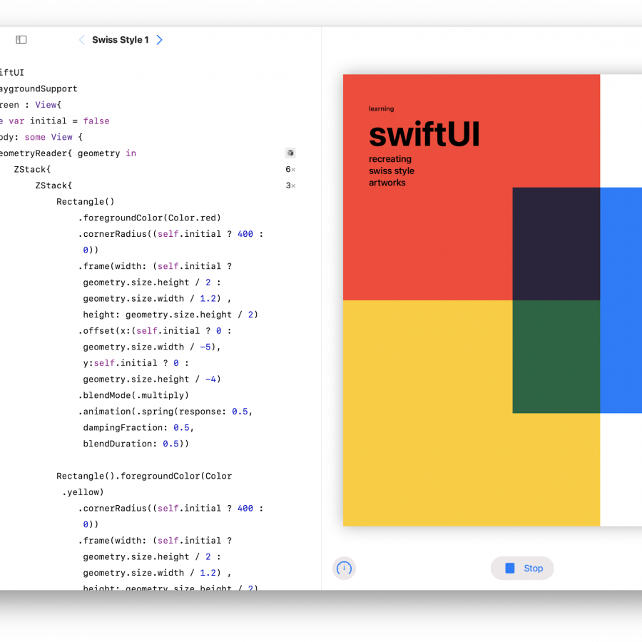 Swiss Style with SwiftUI