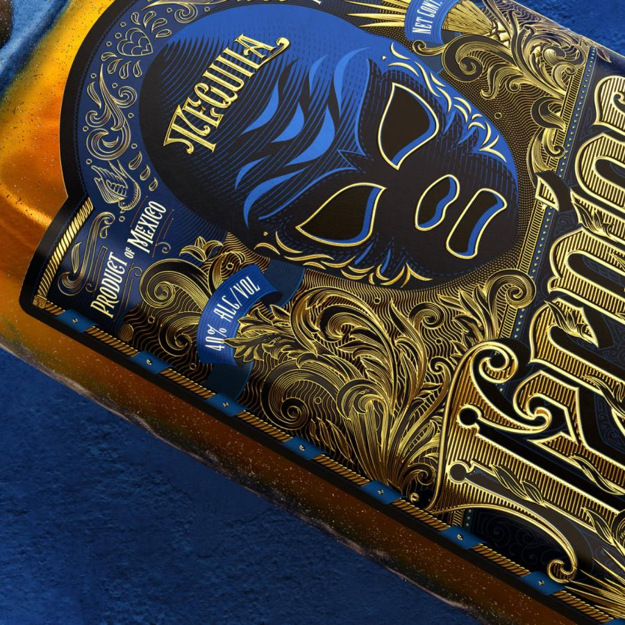 Re-design of Rudo and Tecnico Tequila Labels