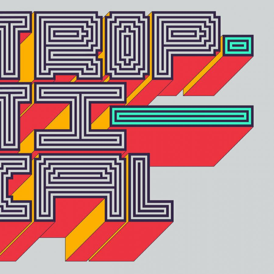 Troptical Hypnotic, Energetic Multilinear Typeface