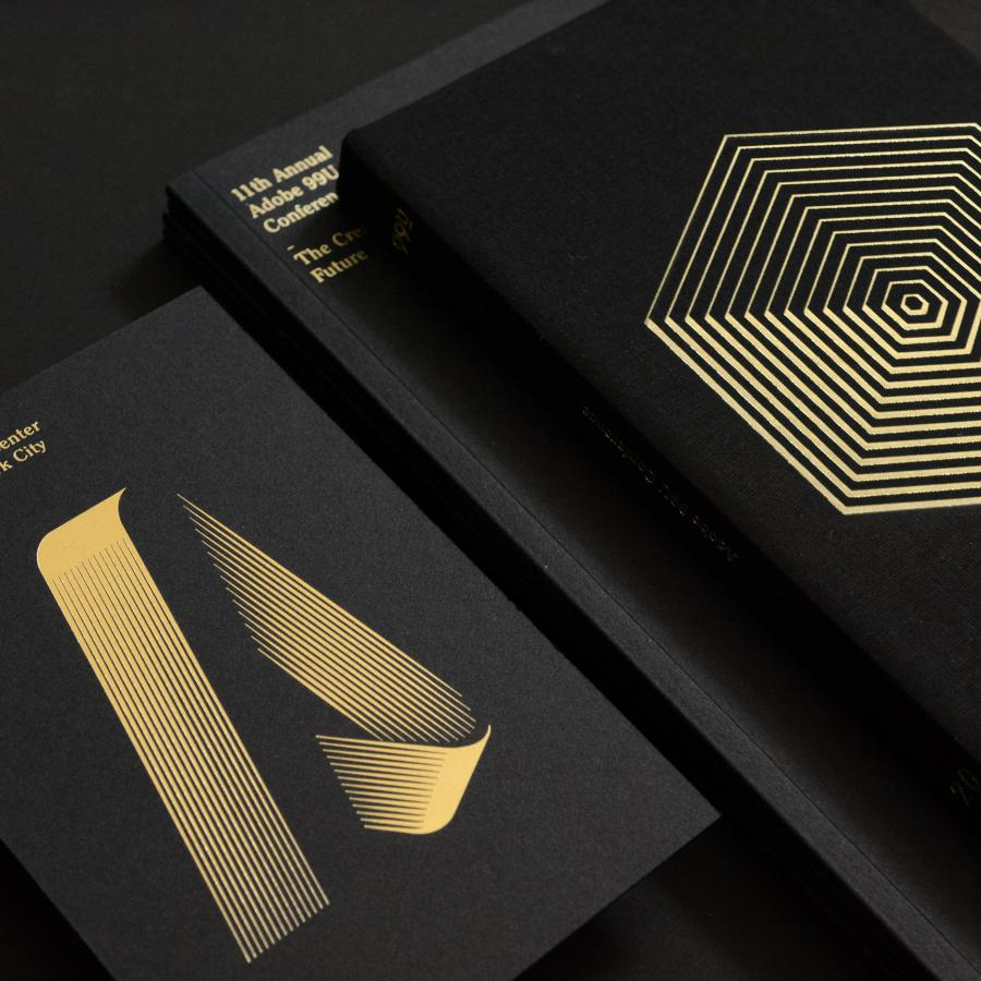 Beautiful Branding Work for Adobe 99U Conference