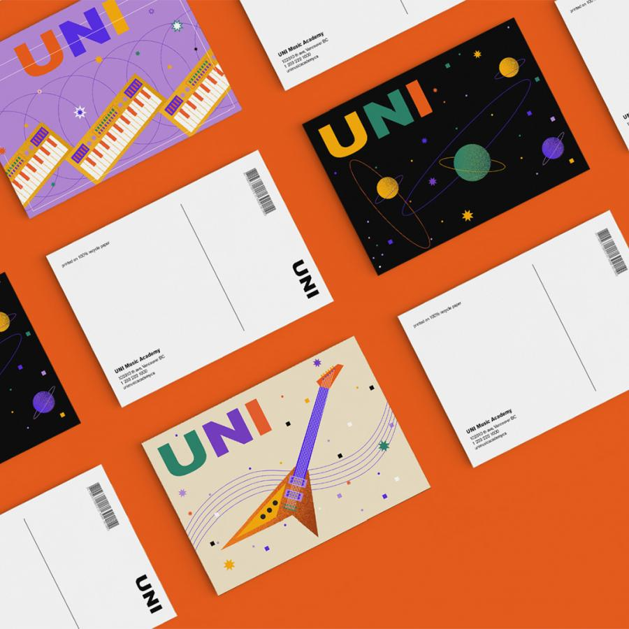 Branding that Elevates UNI Music Academy