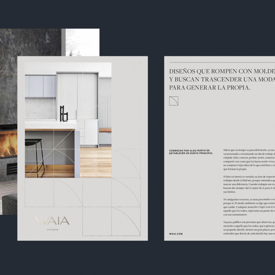 Branding and Visual Identity for Waia Ushuaia