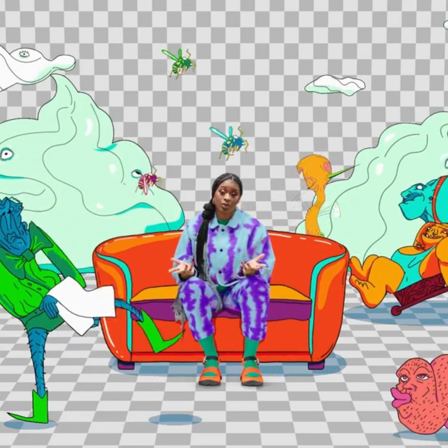 Tierra Whack & Adobe Release New Coloring Book