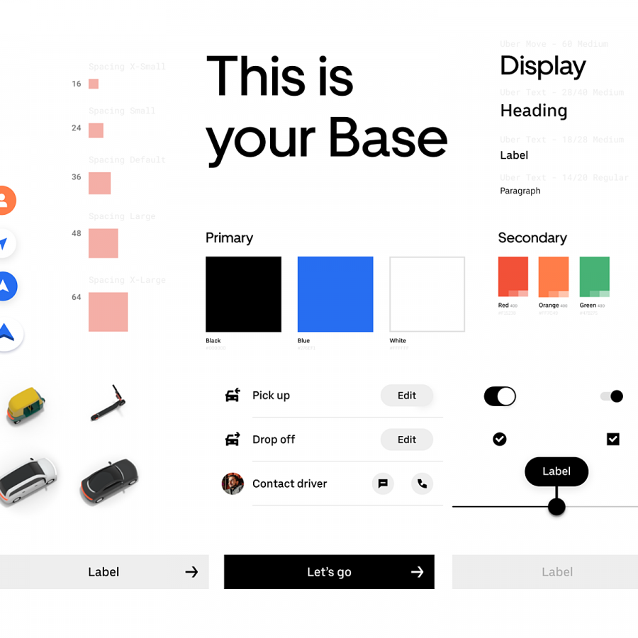 Visual Design Inspiration: Design System