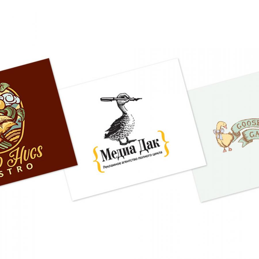 Logo Design: Ducks, Gooses and More