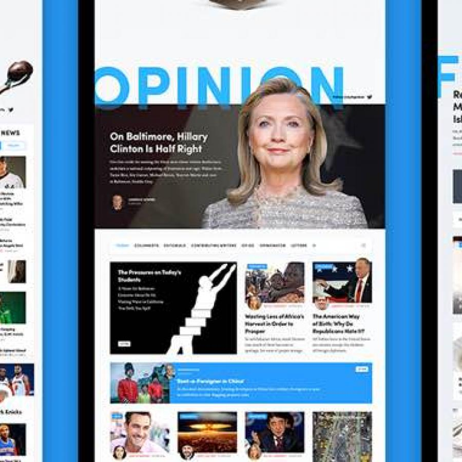 NYTimes Design Concept