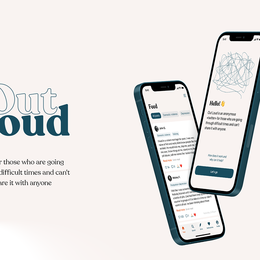 UI/UX Design — Out Loud App