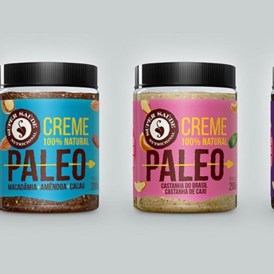 Paleo Nut Butter Packaging Design