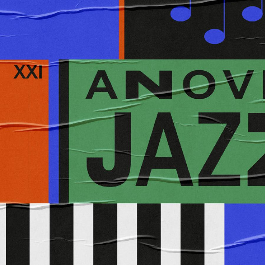 Classy Branding & Visual Identity for Anovel Jazz Festival