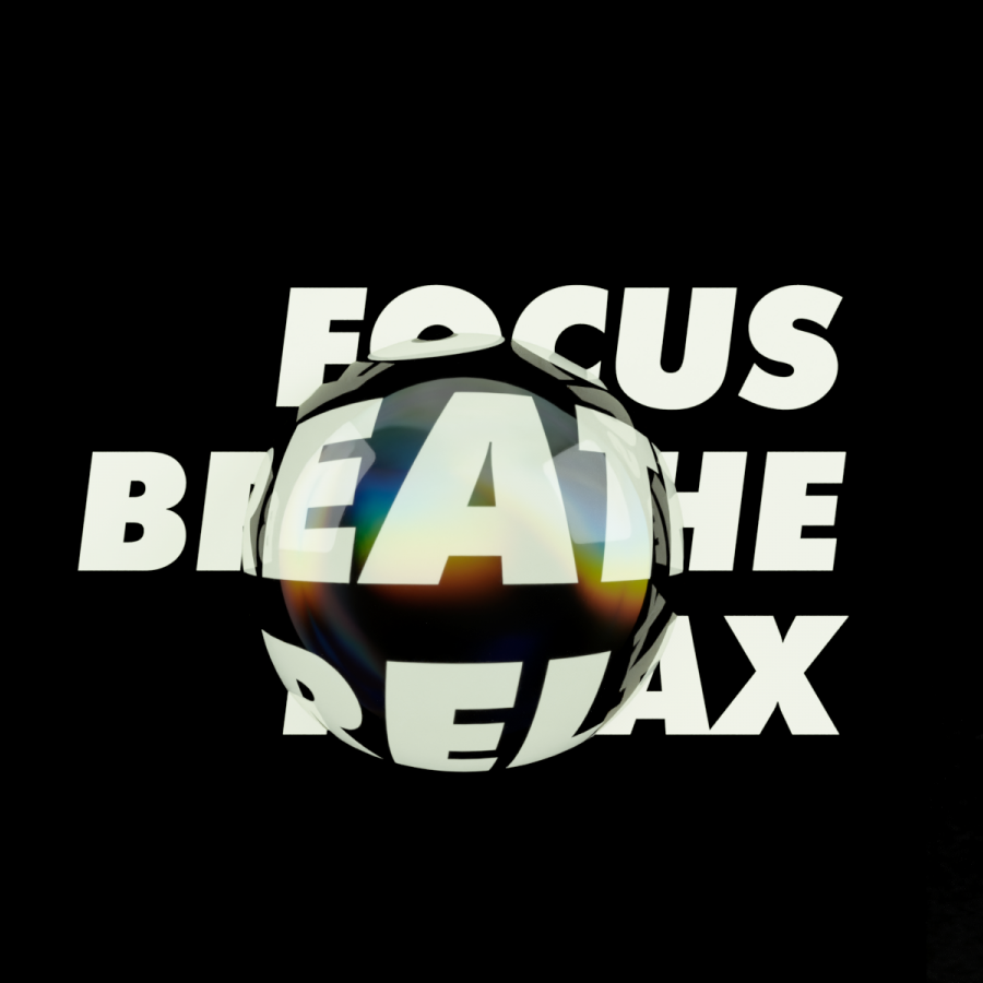 Glassy 3D Refraction Effects over Typography