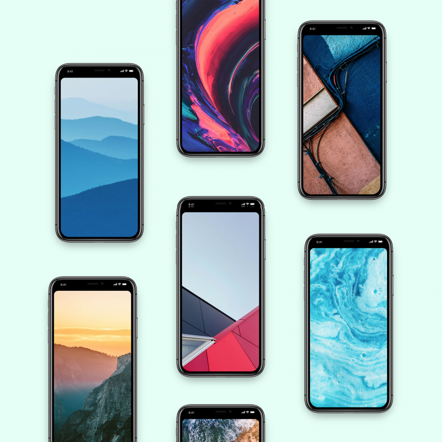 Wallpaper of the Week: Notchless. Hide the notch on your iPhone X