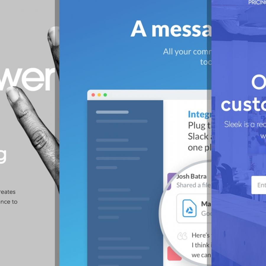 Sites of the Week: Vibrant, Sleek, Marcello Manso and more